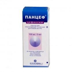 Панцеф, гран. д/р-ра д/приема внутрь 100 мг|5 мл 53 г №1