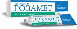Розамет, крем 1% 25 г №1